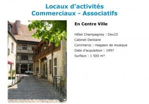 Location centre Besançon Aktya
