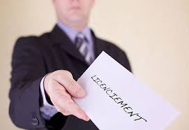 Annonce d'un licenciement de contrat de travail