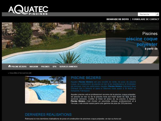 Piscine b ziers de aquatec piscine for Piscine beziers